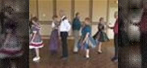 Square dance the Coordinate, Cross Fire, and Roll