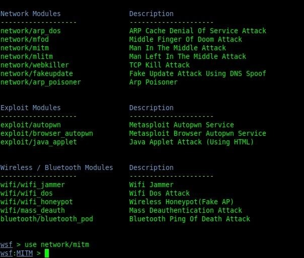 How to Do a MitM Attack with Websploit