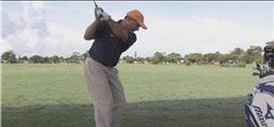 Hit a golf ball far