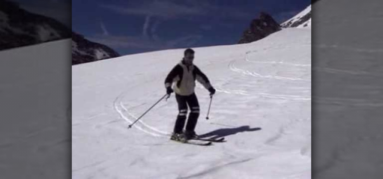 How to execute a good carving technique in skiing «