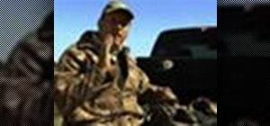 Pack a blind bag for hunting