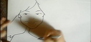 Draw cartoon caricatures