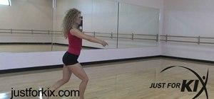 Do the Switch Firebird leap in ballet