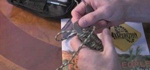 Wrap a 550 cord around the handle of a breacher bar