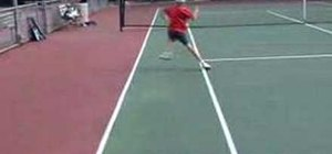 Do tennis footwork and speed drill