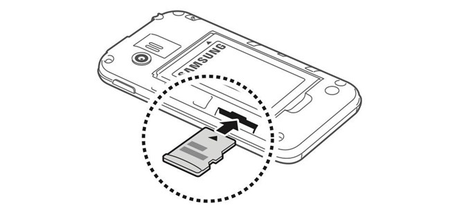 how to get to the root of an sd card