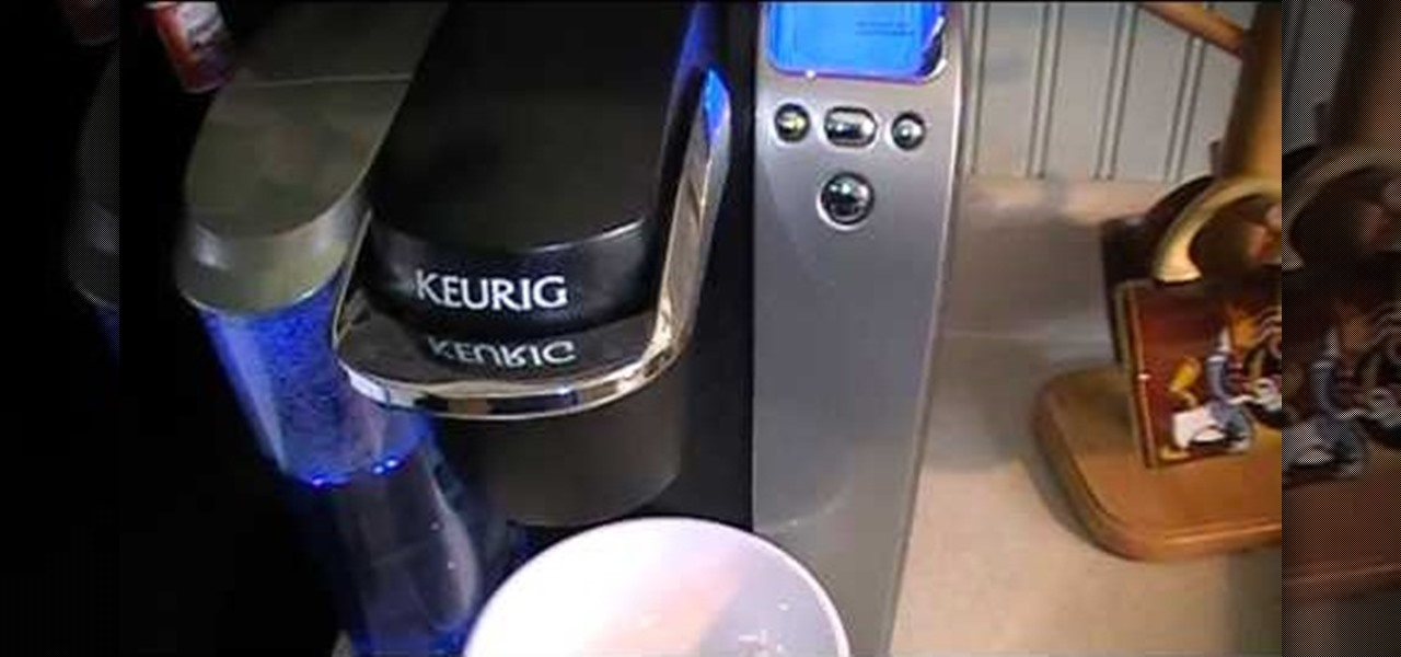 Clean a Keurig K-Cup Coffee Brewer