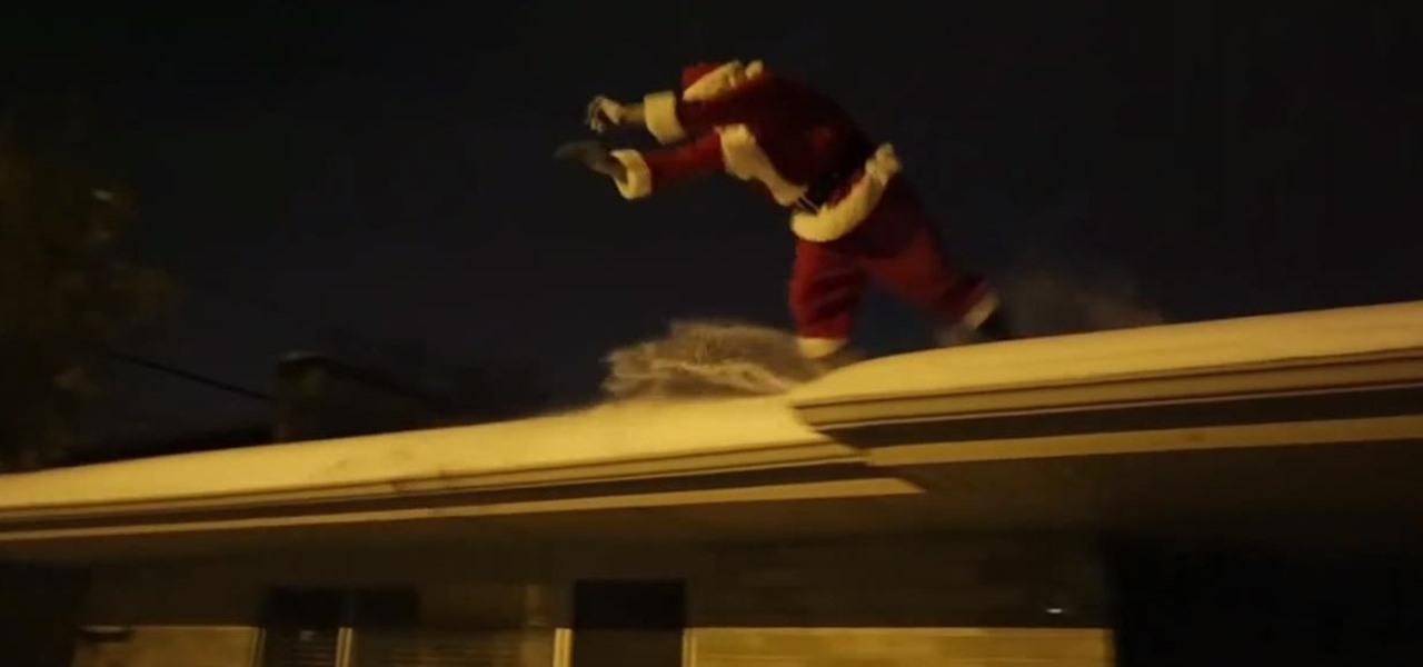 How Santa Claus Does Parkour