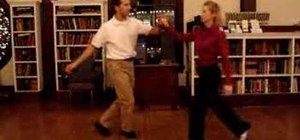 Dance a Stagger Lee lindy hop routine