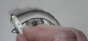 Draw a fairly realistic eye