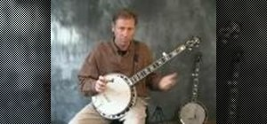 Play hammer ons on the banjo