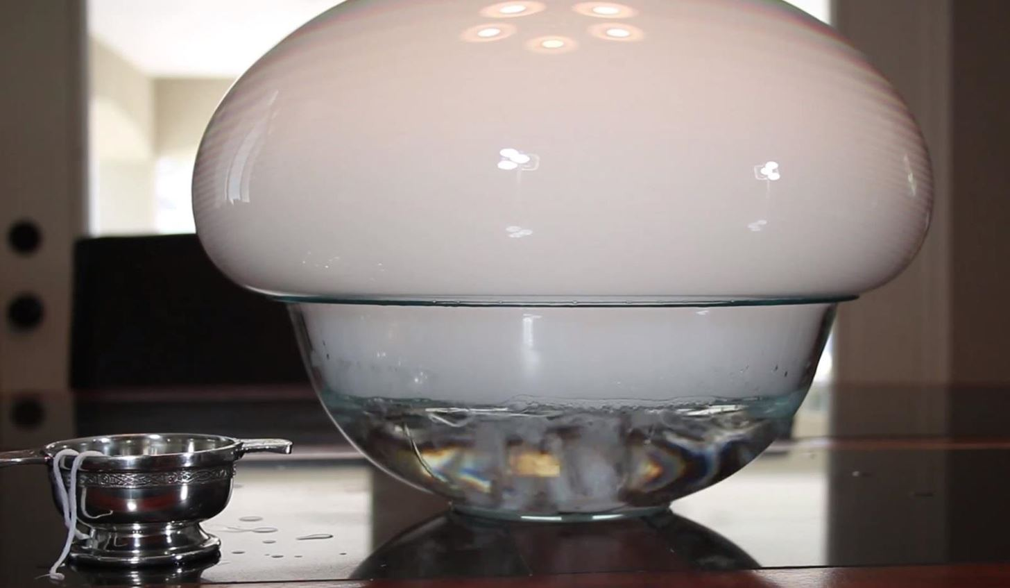 How to Make a Monster Dry Ice Bubble