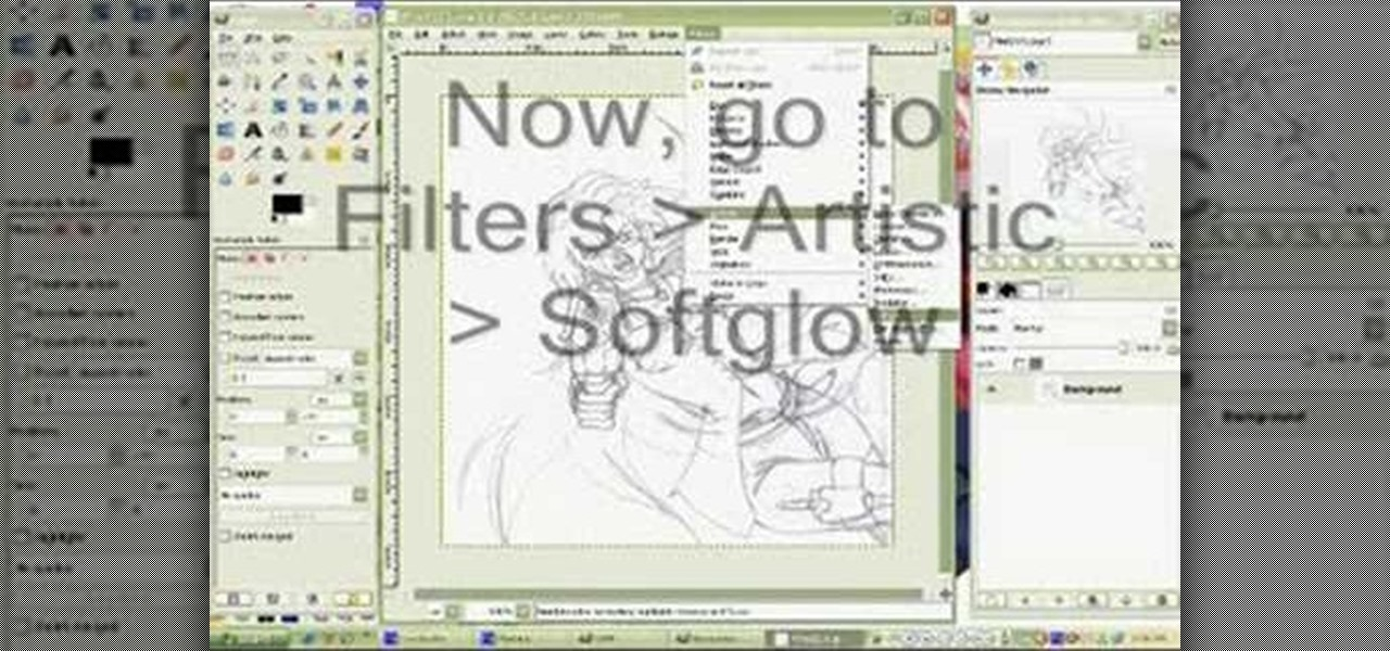Drawing Lines Using Gimp : How to clean up a scanned drawing with the gimp image