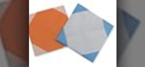 Origami a Japanese paper coaster