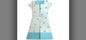Origami a polka dot one piece Japanese paper dress
