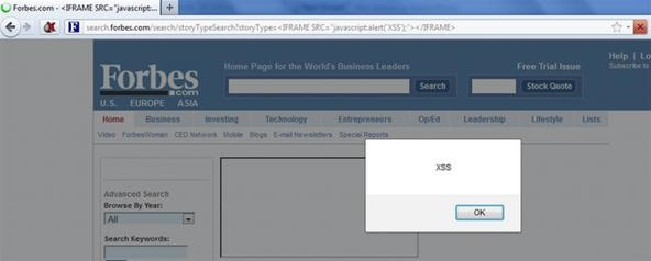 Forbes Exploited: XSS Vulnerabilities Allow Phishers to Hijack Sessions & Steal Logins