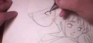 Draw Naruto & Hinata