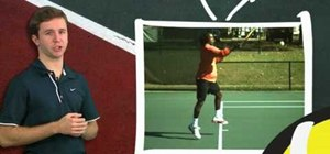 Practice proper wrist grip at contact for forehand