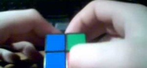 Solve a 2x2 Rubik's Cube, yes, the small one