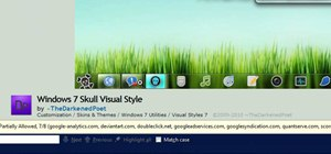 Use UxStyle to customize your Windows 7 themes and styles