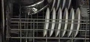 Load a dishwasher properly