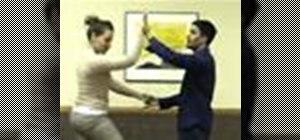 Dance basic salsa steps & do right turns