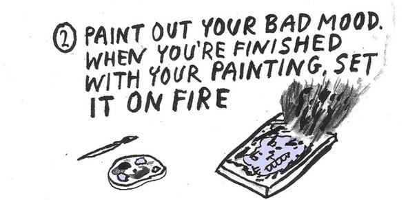 10 Ways to Get Rid of a Bad Mood (+ Meet Our New HowTo Artist, Yumi Sakugawa!)