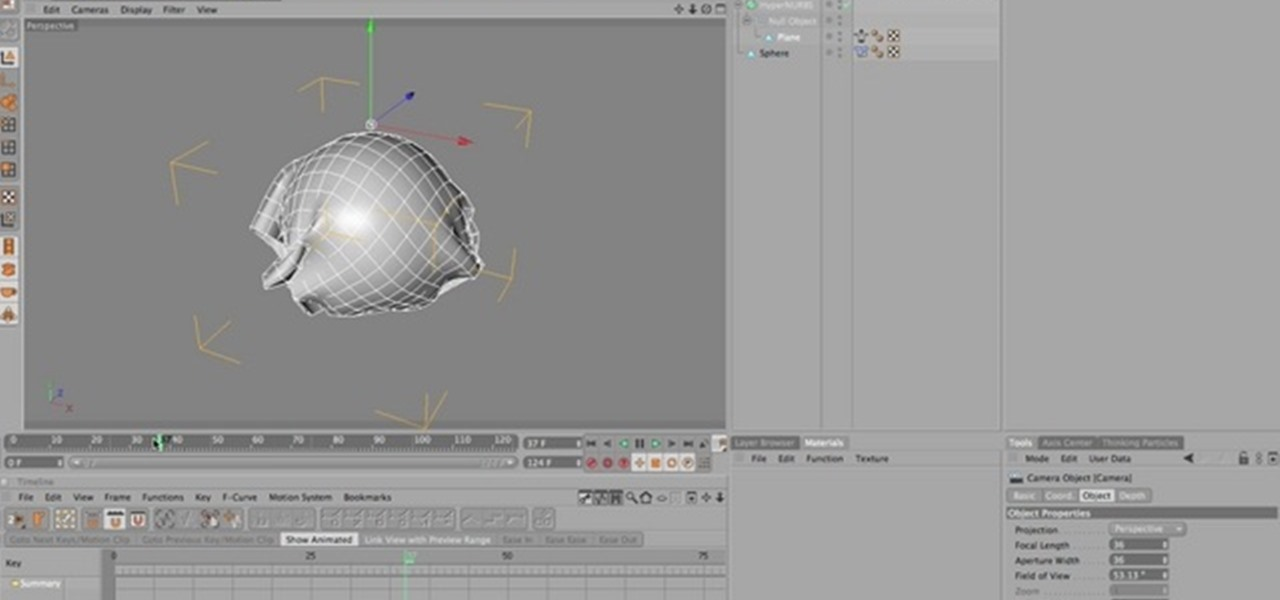 How to Use the Point Cache deformer in Cinema 4D « CINEMA 4D