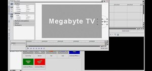 Make crystal text in Sony Vegas