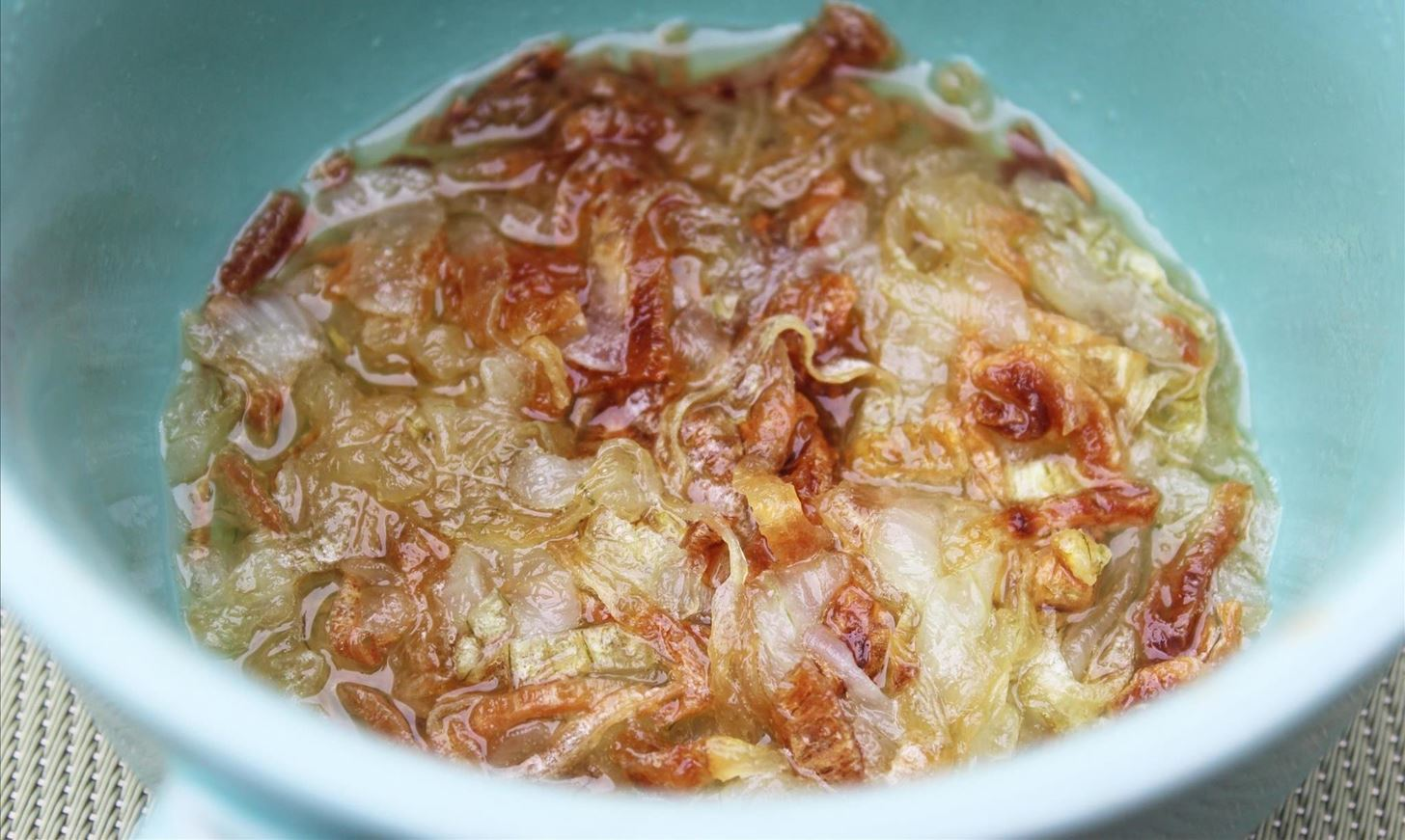 The Easiest Way to Make Homemade French Onion Soup—In Your Microwave