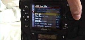 Use the timer setting on your Nikon digital SLR