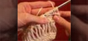 Knit using the elongated stitch