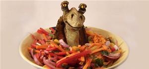 DIY Jar Jar Binks Salad
