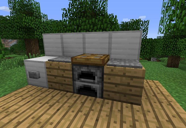 minecraft kitchen furniture trend home design and decor