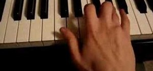 Play harmonic and melodic minor scales on the piano