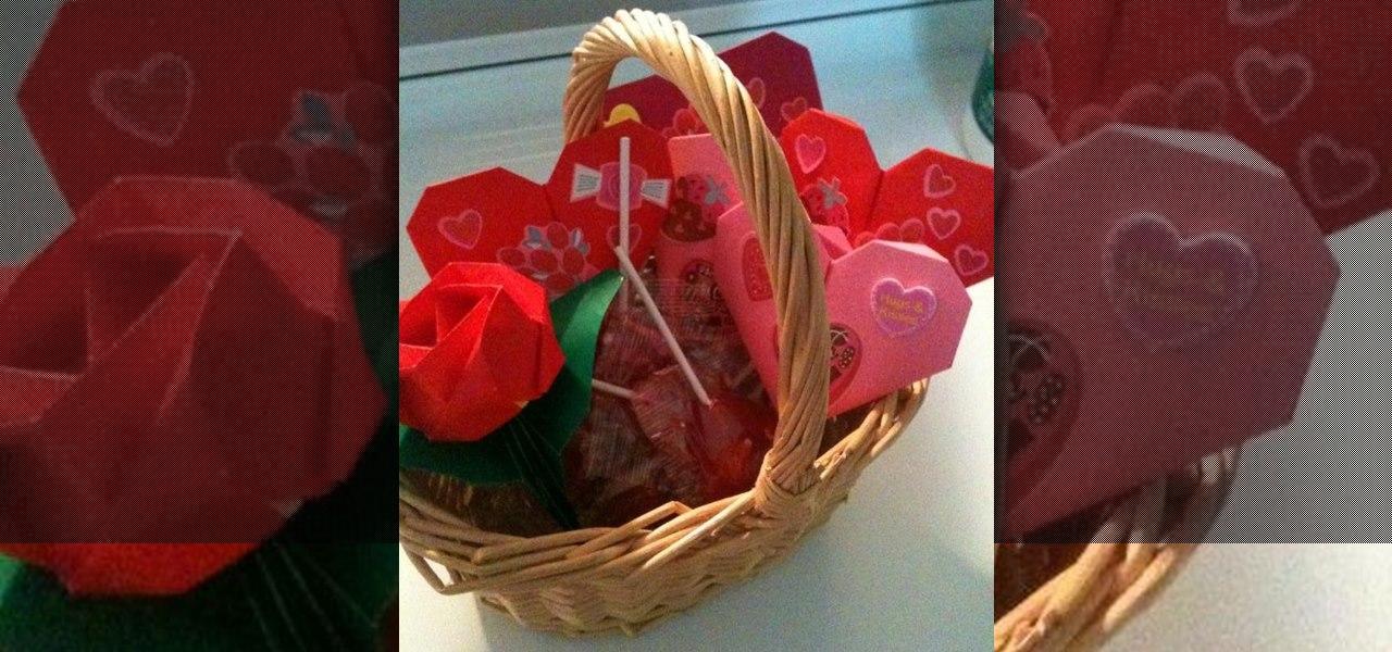 Origami Valentine's Day Present