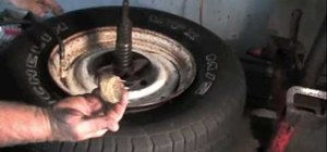 Bead up a stubborn tire with Murphy soap