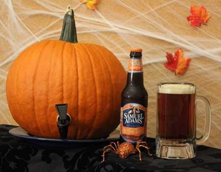 How to turn a pumpkin into a beer dispensing keg perfect Pumpkin carving beer