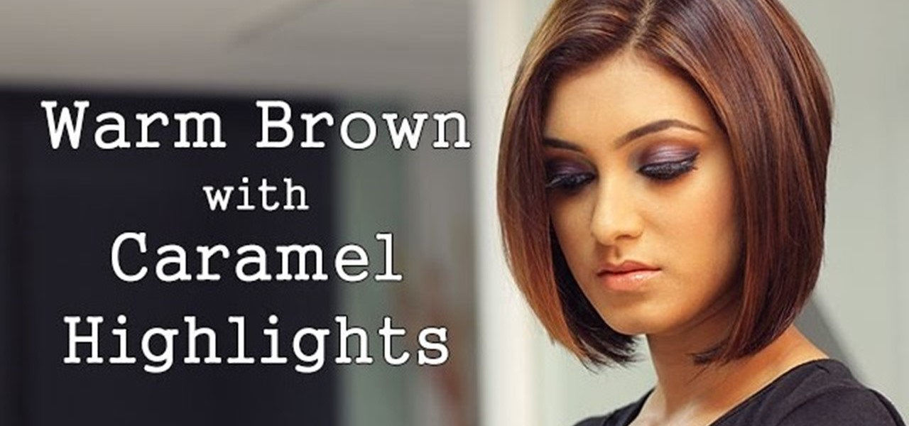 How To Warm Brown Hair With Caramel Highlights