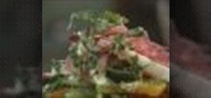 Make rustic jicama salad