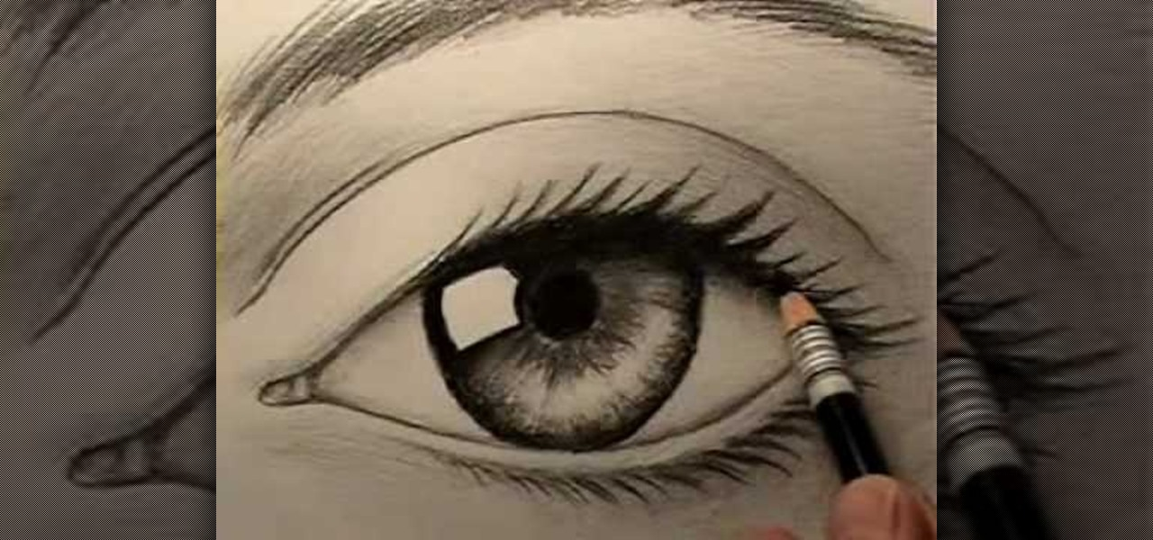 How to draw a realistic human eye drawing illustration wonderhowto