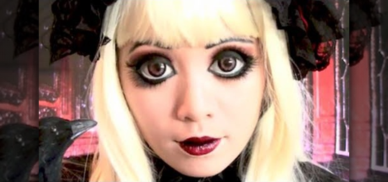 Get Gothic Lolita Doll Makeup Look Inspired