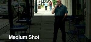 Frame an interview shot for maximum effectiveness
