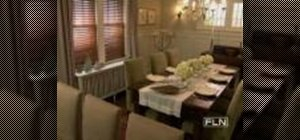 Design your kitchen/dining room combo elegantly