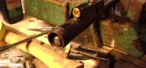 Make a homemade high pressure airgun cannon