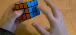 Solve the classic Rubik's Cube puzzle