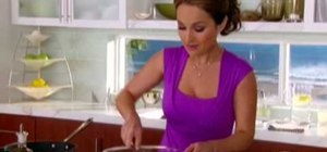 Make frittatas from leftovers with Giada De Laurentiis