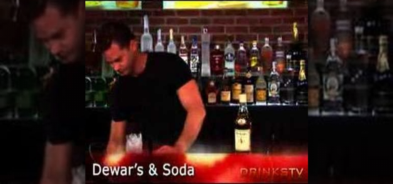 how to make dewars and water