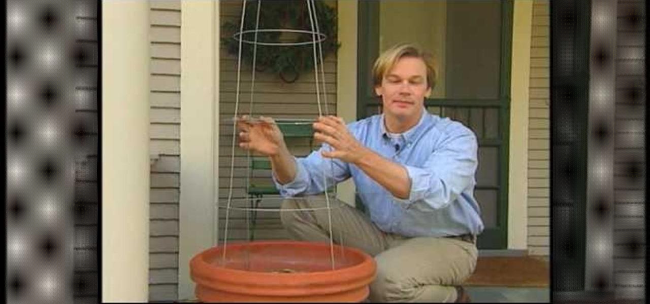 How to Make a tomato cage Christmas tree « Christmas Ideas ...