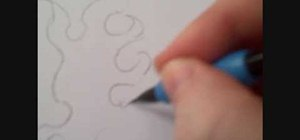 Draw a sketch of fire in pencil